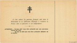100 Francs FRANCE régionalisme et divers  1944 - SPL