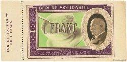 1 Franc FRANCE régionalisme et divers  1941 - SPL