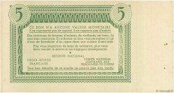 5 Francs FRANCE régionalisme et divers  1941 - SPL
