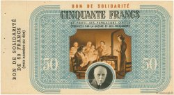 50 Francs FRANCE  1941 - SPL