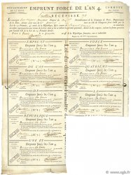 60 Francs FRANCE  1795  TTB