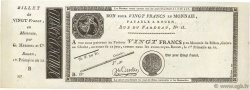 20 Francs FRANCE  1804 PS.245b pr.NEUF