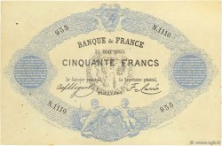 50 Francs type 1868 FRANCE  1883 F.A38.00 SUP+