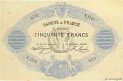 50 Francs type 1868 FRANCE  1883 F.A38.13 SUP+