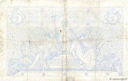 5 Francs NOIR FRANCE  1872 F.01.10 pr.TB