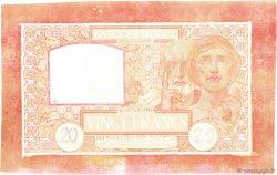 20 Francs SCIENCE ET TRAVAIL FRANCE  1922 F.12.00e9 SPL