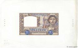 20 Francs SCIENCE ET TRAVAIL FRANCE  1939 F.12.00e4 SPL
