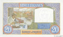 20 Francs SCIENCE ET TRAVAIL FRANCE  1941 F.12.16 NEUF