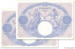 50 Francs BLEU ET ROSE FRANCE  1915 F.14.28 SPL