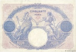 50 Francs BLEU ET ROSE FRANCE  1926 F.14.39 pr.TTB