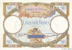 50 Francs LUC OLIVIER MERSON FRANCE  1927 F.15.01 SPL