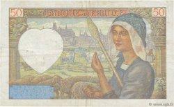 50 Francs JACQUES CŒUR FRANCE  1942 F.19.19 pr.TTB