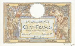 100 Francs LUC OLIVIER MERSON grands cartouches FRANCE  1923 F.24.00e2 NEUF