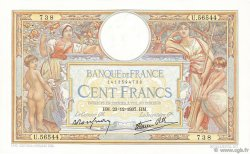 100 Francs LUC OLIVIER MERSON type modifié FRANCE  1937 F.25.06 SUP