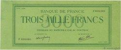 3000 Francs Vert FRANCE  1938 (F.29.00) pr.NEUF
