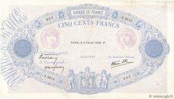 500 Francs BLEU ET ROSE modifié FRANCE  1939 F.31.25 TB à TTB