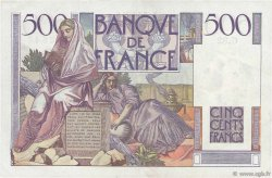 500 Francs CHATEAUBRIAND FRANCE  1946 F.34.05 TTB+