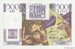 500 Francs CHATEAUBRIAND FRANCE  1946 F.34.06 TTB à SUP
