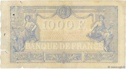 1000 Francs BLEU ET ROSE FRANCE  1891 F.36.03 B