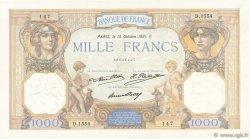 1000 Francs CÉRÈS ET MERCURE FRANCE  1931 F.37.06 SPL
