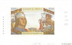 1000 Francs VERCINGÉTORIX FRANCE  1950 F.-- NEUF