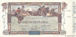 5000 Francs FLAMENG FRANCE  1918 F.43.01 pr.SUP