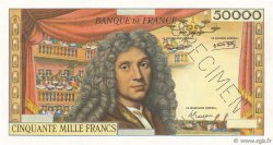 50000 Francs MOLIÈRE FRANCE  1958 F.-- NEUF