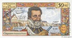 50 Nouveaux Francs HENRI IV FRANCE  1959 F.58.00 NEUF