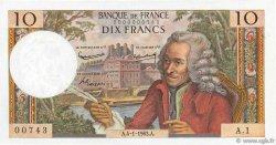 10 Francs VOLTAIRE FRANCE  1963 F.62.01 pr.NEUF