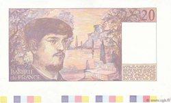 20 Francs DEBUSSY FRANCE  1980 F.66.00e2 NEUF