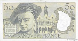 50 Francs QUENTIN DE LA TOUR FRANCE  1992 F.67.19a SUP+