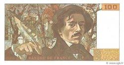 100 Francs DELACROIX modifié FRANCE  1990 F.69.01d pr.NEUF