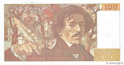 100 Francs DELACROIX imprimé en continu FRANCE  1991 F.69bis.03a1b NEUF