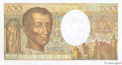200 Francs MONTESQUIEU Modifié FRANCE  1994 F.70/2.02a NEUF