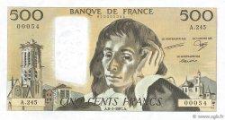 500 Francs PASCAL FRANCE  1987 F.71.35 pr.NEUF