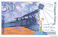 50 Francs SAINT-EXUPÉRY sans mouton FRANCE  1992 F.72ter.01 NEUF