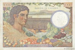 1000 Francs Algérie FRANCE  1943 VF.10.01 TTB
