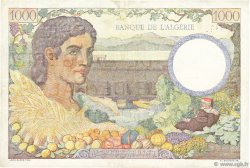 1000 Francs Algérie FRANCE  1943 VF.10.02 TTB