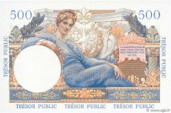 5NF sur 500 Francs TRÉSOR PUBLIC FRANCE  1960 VF.37.02 NEUF