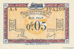 5 Centimes FRANCE régionalisme et divers  1923 JP.135.01 NEUF