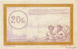 20 Francs FRANCE régionalisme et divers  1923  TTB
