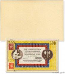 500 Francs Bon de Solidarité FRANCE régionalisme et divers  1944 - SUP