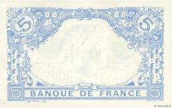 5 Francs BLEU FRANCE  1912 F.02.07 SPL