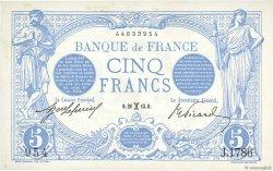 5 Francs BLEU FRANCE  1913 F.02.14 SPL