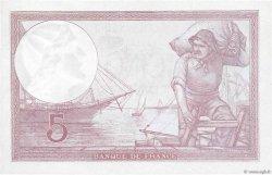 5 Francs VIOLET modifié FRANCE  1939 F.04.03 NEUF