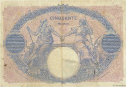 50 Francs BLEU ET ROSE FRANCE  1893 F.14.05 TB