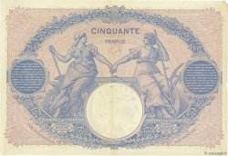 50 Francs BLEU ET ROSE FRANCE  1901 F.14.13 pr.TTB
