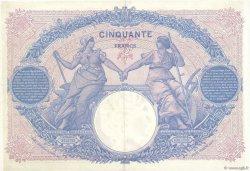 50 Francs BLEU ET ROSE FRANCE  1917 F.14.30 pr.SUP