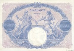 50 Francs BLEU ET ROSE FRANCE  1918 F.14.31 SUP