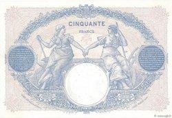 50 Francs BLEU ET ROSE FRANCE  1922 F.14.35 SUP